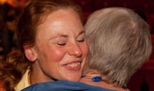 Patient and Carer Hug